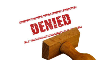 Declined affiliate applications
